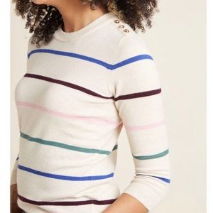 ModCloth School Pullover Sweater in Simple Stripes